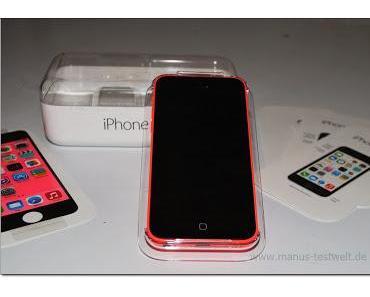 iPhone 5c in Pink erster Eindruck