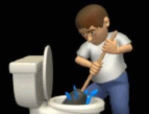 Welttoilettentag: Das Klo, WC oder Toilette - der perfekte Arbeitsplatz ?