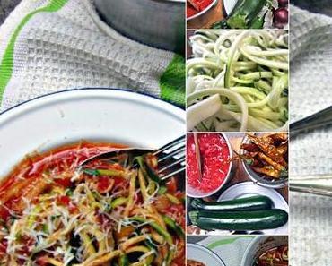 Vegane Zucchini - Spaghetti