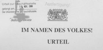 "Richter klagen gegen ""Schwarze Liste"""