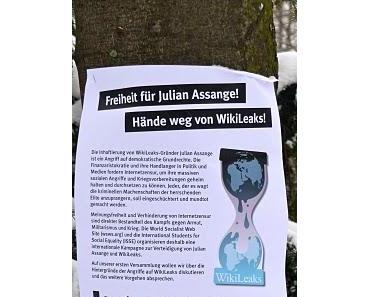 """""""Freiheit für Julian Assange"""""""