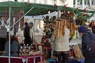 Der Weihnachtsmarkt am Gustav Adolf Torg in Göteborg