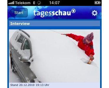 Welcome, Tagesschau App