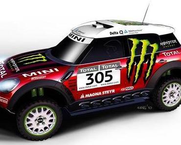 Mini geht bei der Rallye Dakar an den Start
