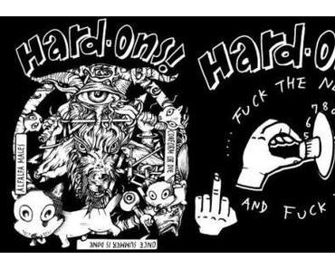 Hard-Ons – EAT SHIT LISTEN TO HORRIBLE MUSIC on VINYL