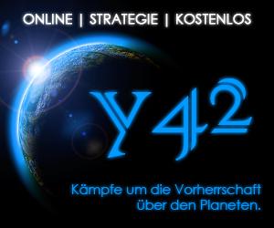 """""""y42"""" Kostenloses Online Strategie Browser Spiel"""