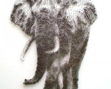 Kunst aus tausend Nägeln von David Foster