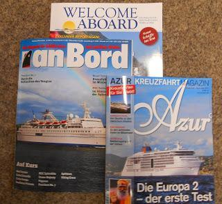 Im Test: die wichtigsten Kreuzfahrtmagazine im Vergleich - Azur, an Bord und Welcome Aboard