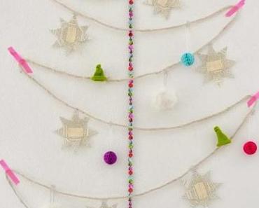 DIY: Weihnachtsinstallation mit Adventskalender
