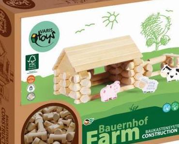 Grüner Mehrwert: Holzspielzeug von Varis – garantiert gesund und ohne Schadstoffe