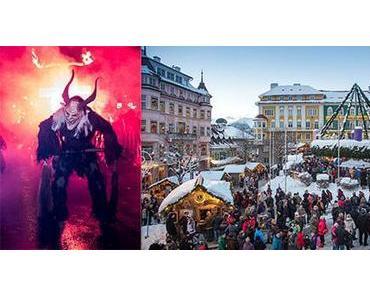 Mariazeller Advent: Rekord-Besucheransturm zu Eröffnungsfeier und traditionellem Krampuslauf