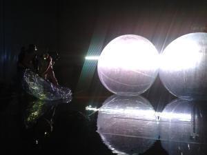 We Disappear / i-camp Theater / 29.11.2013 Performative Inszenierung von Alexander Griesche, Mirko Hecktor, Tarun Kade und Nadia Fisterol