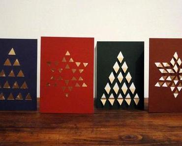 Festlich schöne Weihnachtskarten