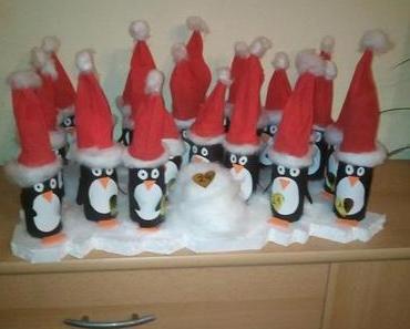 DIY Adventskalender: Pinguine auf Eisscholle