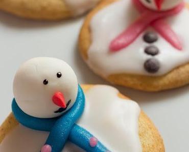 [Gastblogger] geschmolzene Schneemann Kekse von Detailliebe