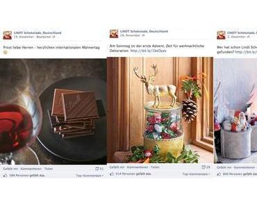 famefacts.29 #Schokoladenhersteller auf Facebook