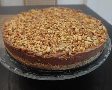 nutella cheese cake
