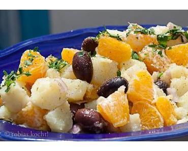Kartoffel-Orangen Salat