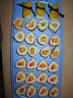 KW52/2013 - Die Leckereien der Woche - Süßes Sushi