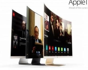 [Konzept] Apple iTV mit gewölbtem Bildschirm und iOS 7-Oberfläche