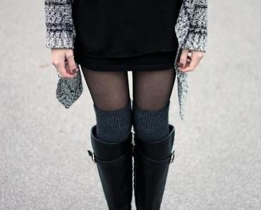 OUTFIT DETAILS I OVERKNEES AND BOOTS