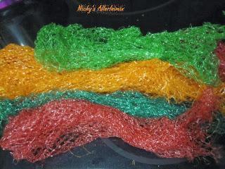 Recyclingtipp: Mandarinen- Orangen- Zitronennetze = Badeblume