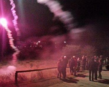 Hiddensee feierte ins neue Jahr