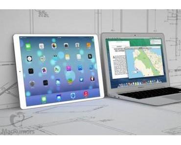 [Gerüchte] Kommt ein 12 Zoll iPad Pro im Herbst?