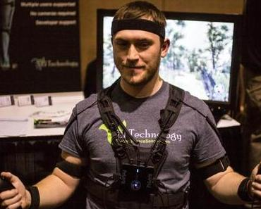 CES: Prio VR Ganzkörper Sensoranzug für VR-Gaming + Oculus Rift