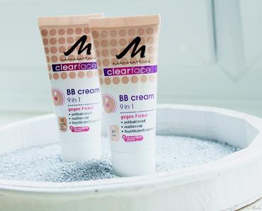 Manhattan clearface BB Cream 9 in 1 - für helle Haut mit Gesamtbild