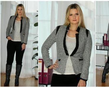 Outfit des Tages: Office Style (Blazer)