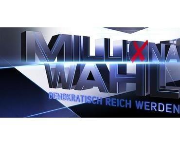 Millionärswahl - ProSieben Sat.1 zieht Notbremse