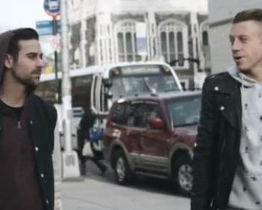 """Macklemore und Ryan Lewis performen """"Can't Hold Us"""" in einem New Yorker Bus"""