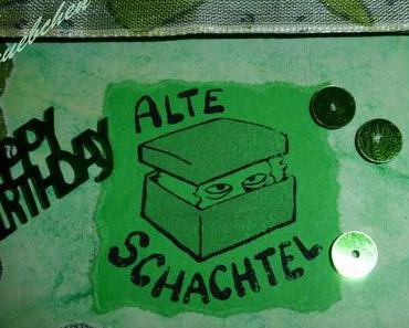 DIY - Exploding Box zum 40. Geburtstag
