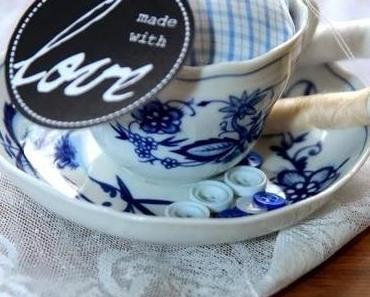 Nadelkissen und was man noch so mit alten Tassen machen kann!