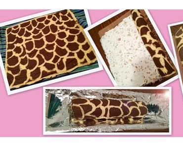 Herzhafte Biskuitrolle a la Giraffenhals