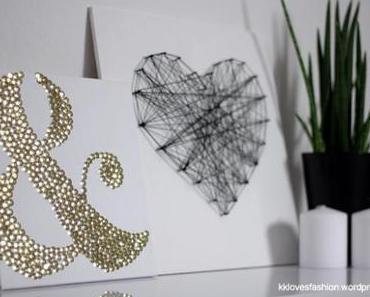 DIY (H.O.M.E.): Was Schönes für kahle Wände