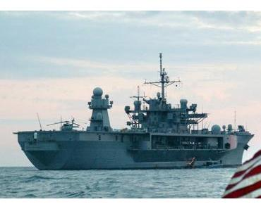 US-Kriegsschiffe nähern sich der ukrainischen Küste
