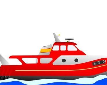 Bunte Kinderbilder zum Ausdrucken (gratis) – Schiffe