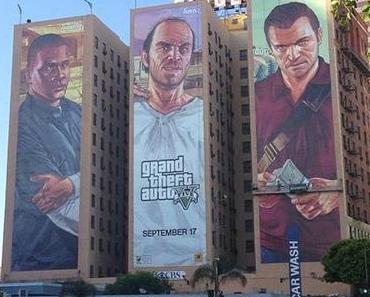 Grand Theft Auto 5 (GTA5): ein Game schreibt Videospiel- und Marketing-Geschichte