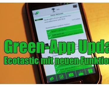 Green-App-Update: Ecotastic mit neuen Funktionen