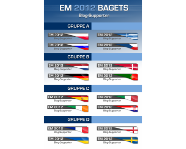 Kostenlose EM 2012 Badgets für deinen Blog