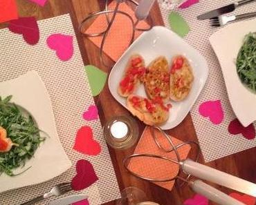 dinner-dienstag // love edition // ravioli herzen
