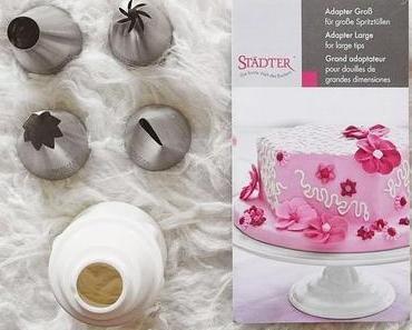Einkaufstipp: extra große Spritztüllen z.B. für Cupcakes