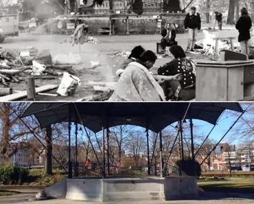 Mittagspause mit Aussicht: Platzspitz 1980 und heute