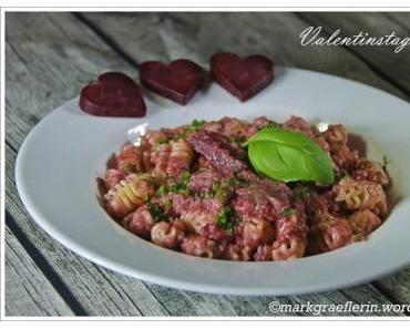 ♥♥♥ Rote Bete Pasta – zum Valentine's Day♥♥♥