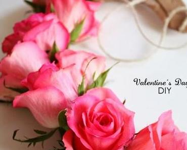 "Last Minute Valentinstag-DIY: ""Floral Heart"""