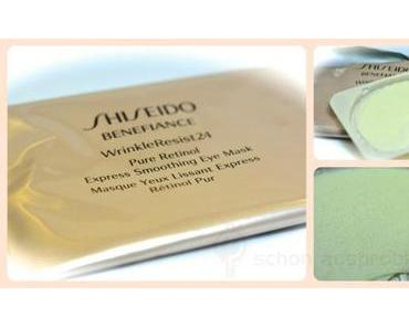 Olala!!!! SHISEIDO Benefiance WrinkleResist24 Pure Retinol Express Smoothing Eye Mask mit Soforteffekt!