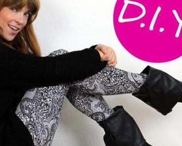 DIY: Stiefelstulpen zum Anklipsen