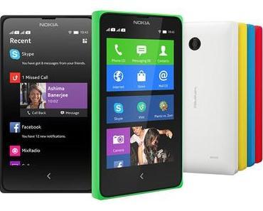Nokia stellt seine Android Smartphones in drei Ausführungen (Nokia X, X+, XL) vor